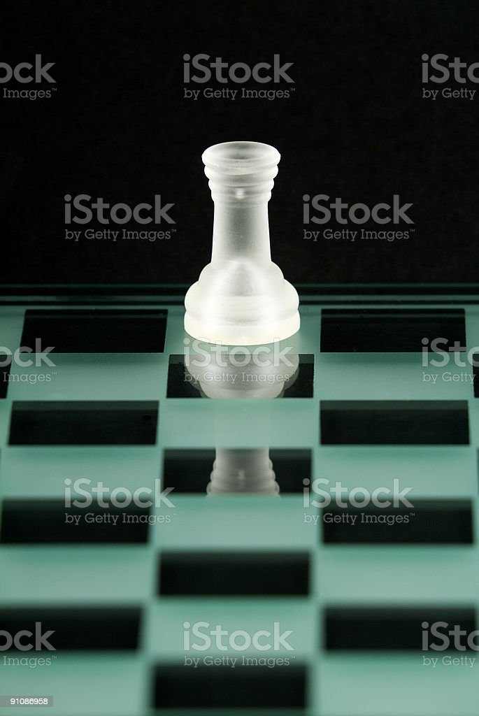 Chess Series - Rook royalty-free stock photo