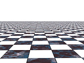 istock Chess surface in perspective 638893550