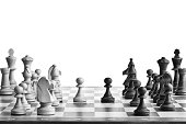 istock Chess Table 182807740