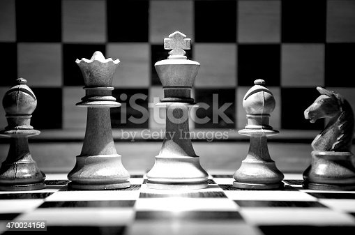 istock Chess team 470024156