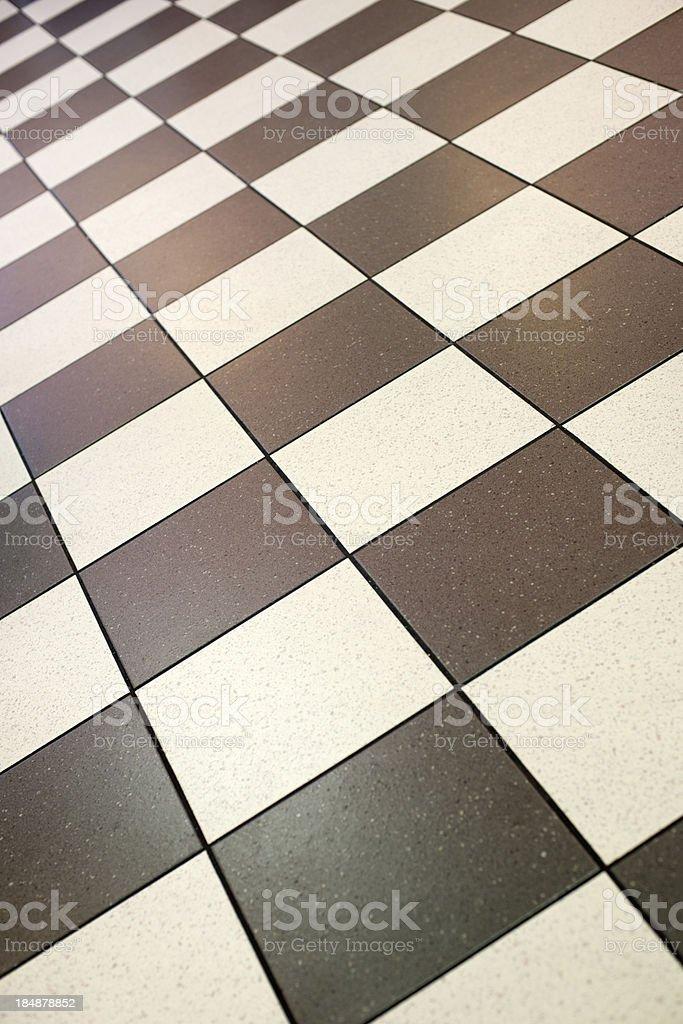 Chessboard Floor (XXXL) royalty-free stock photo