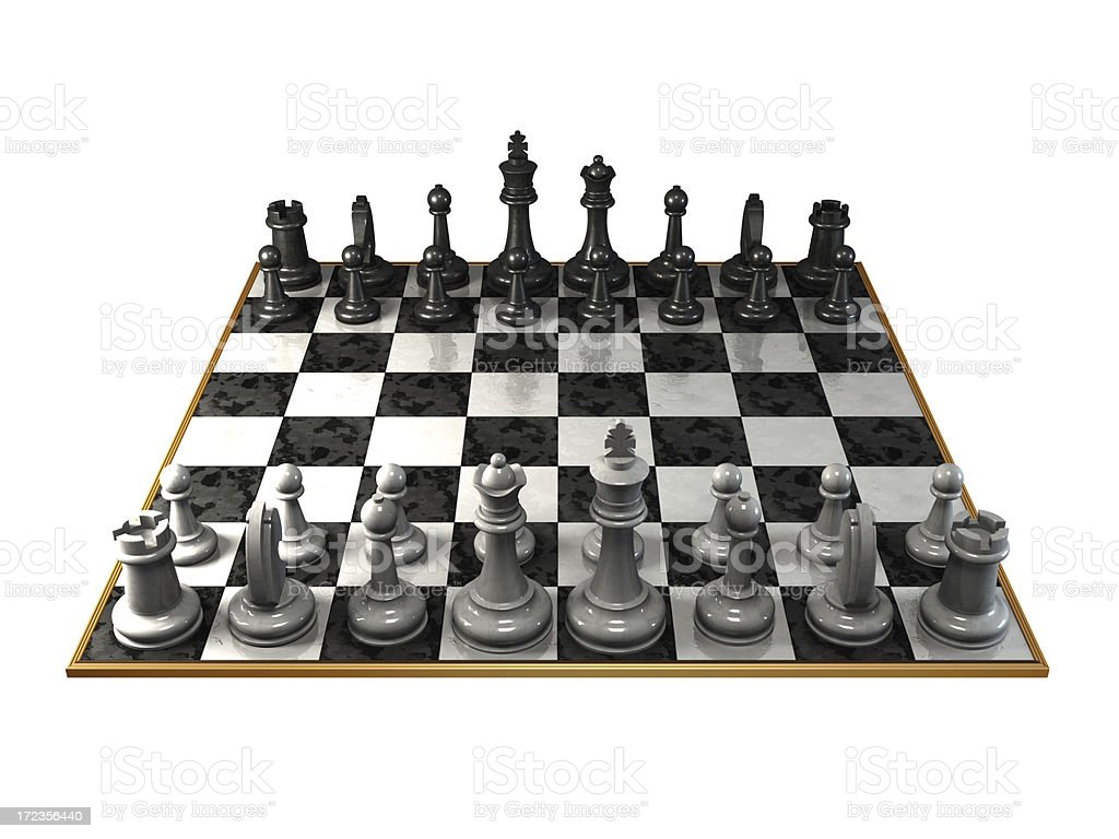 Chessboard royalty-free stock photo