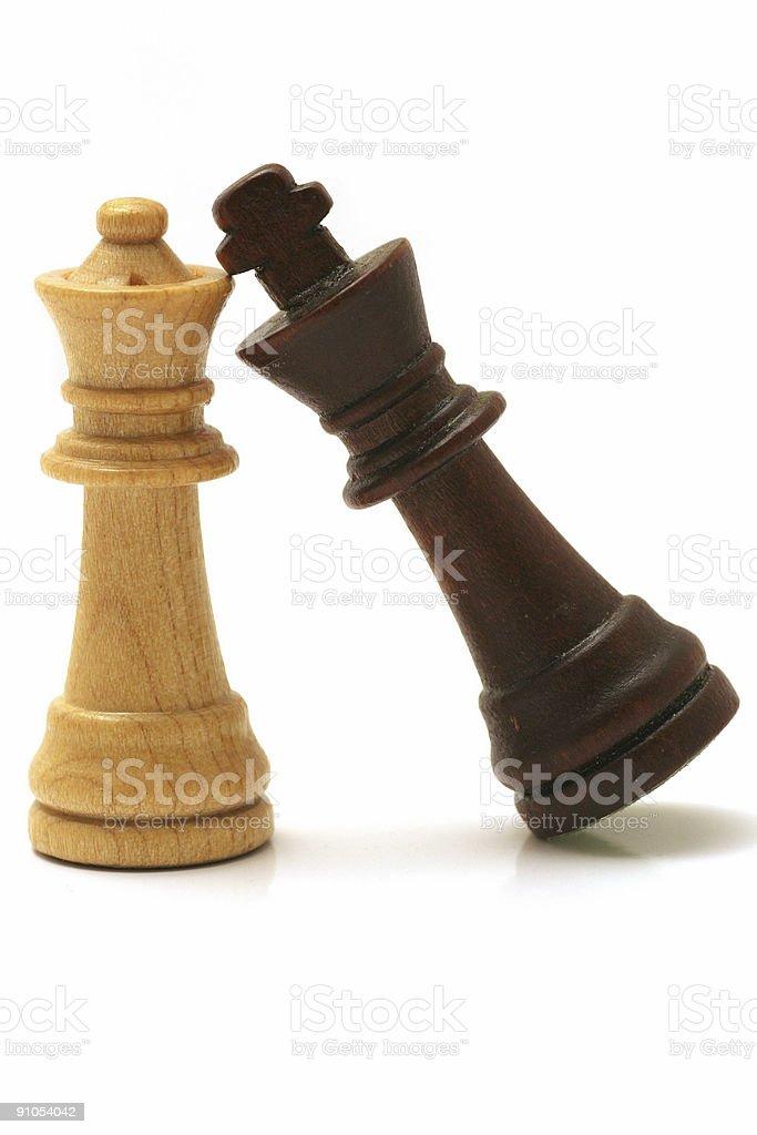 Chessmates royalty-free stock photo