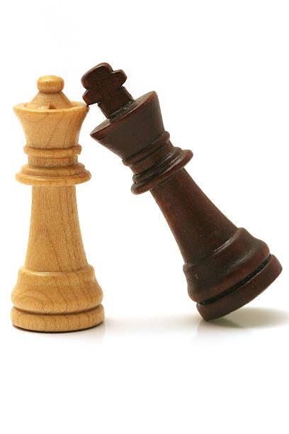 Chessmates stock photo