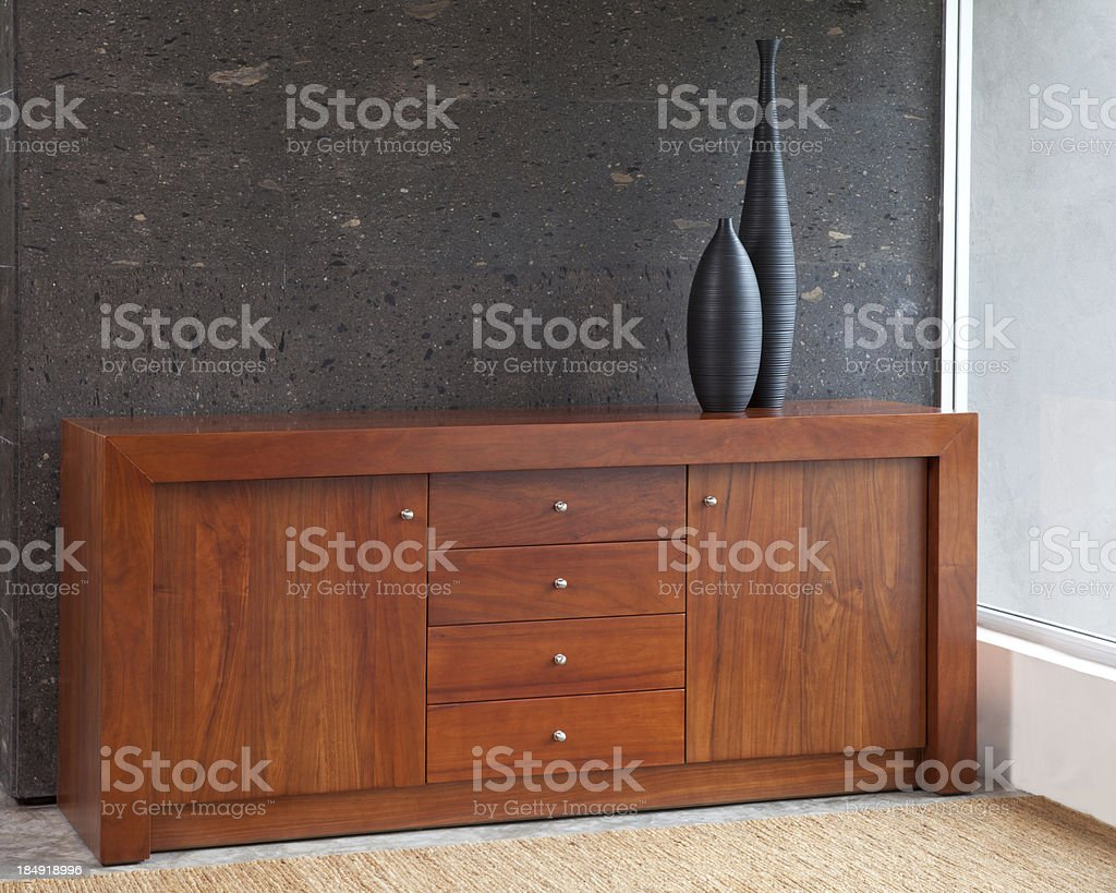 Chest of drawers stock photo