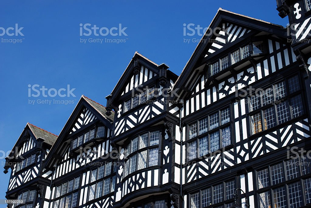Chester architecture royalty-free stock photo