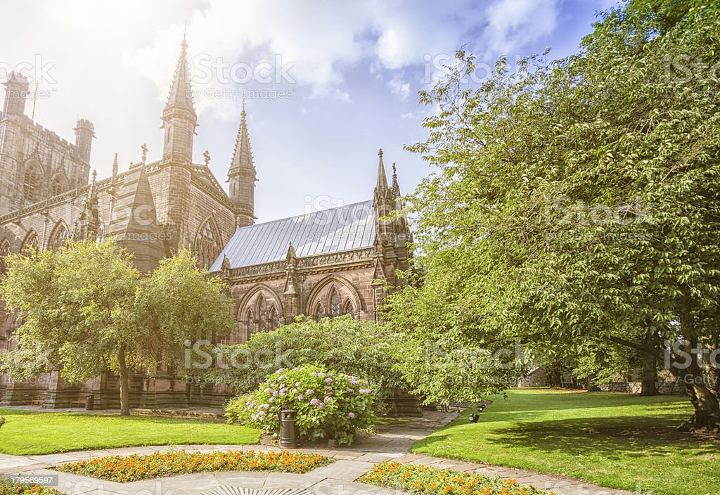 Chester church -  England stock photo
