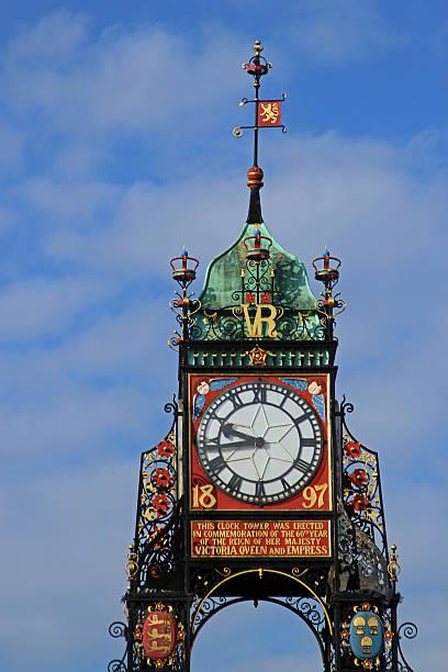Chester Clock Tower, Chester, Großbritannien – Foto