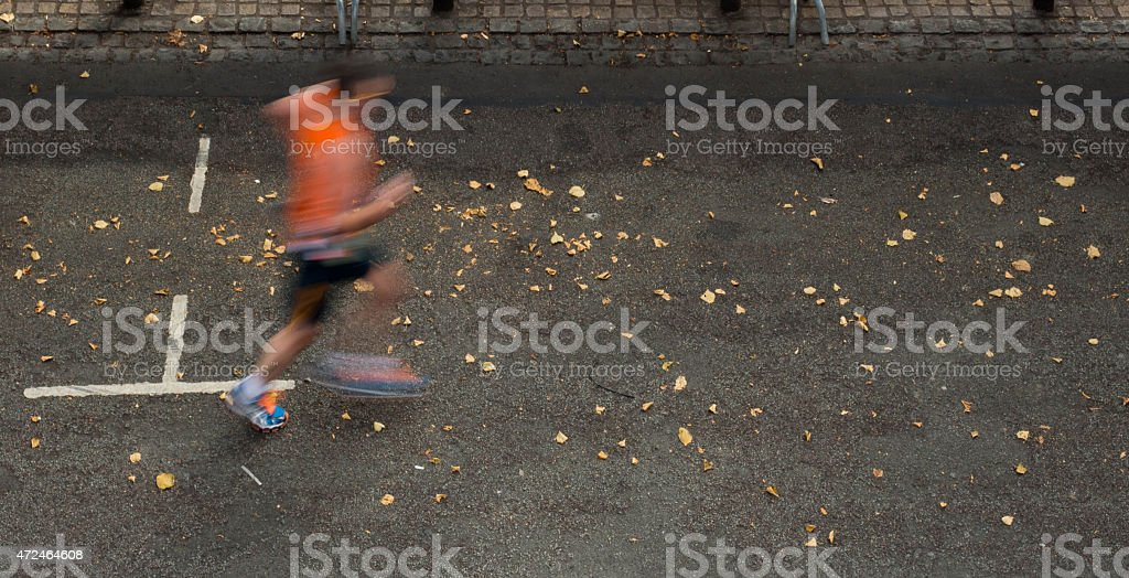 Chester Half Marathon stock photo
