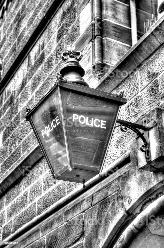 Chester Police station stock photo