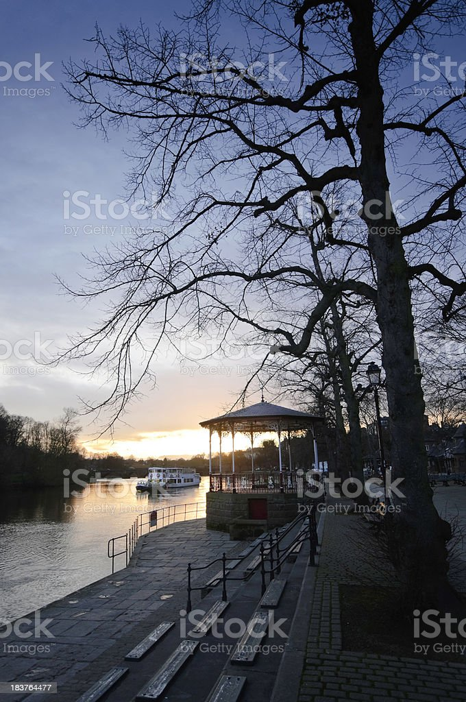 Chester Sunset royalty-free stock photo