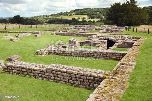 istock Chesters Roman Fort 176023507