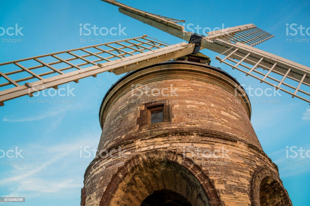 Chesterton Windmill stock photo