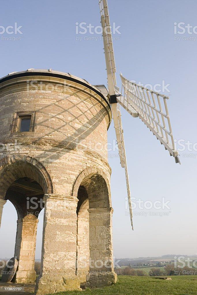 Chesterton Windmill Warwickshire stock photo