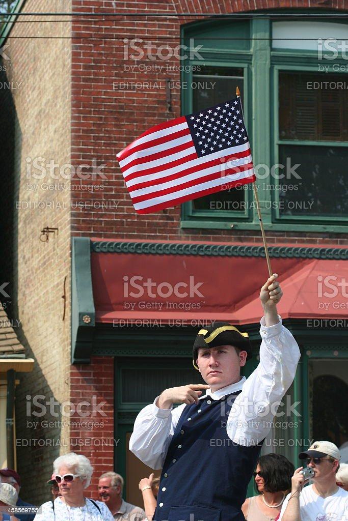 Chestertown Tea Party Parade stock photo
