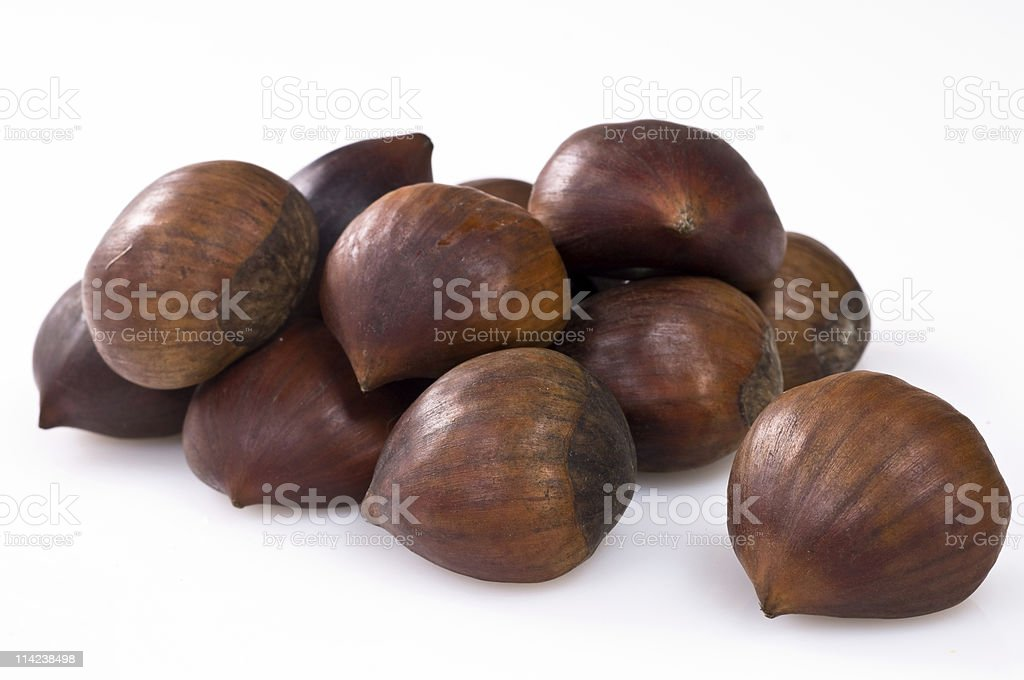 Chetsnuts royalty-free stock photo
