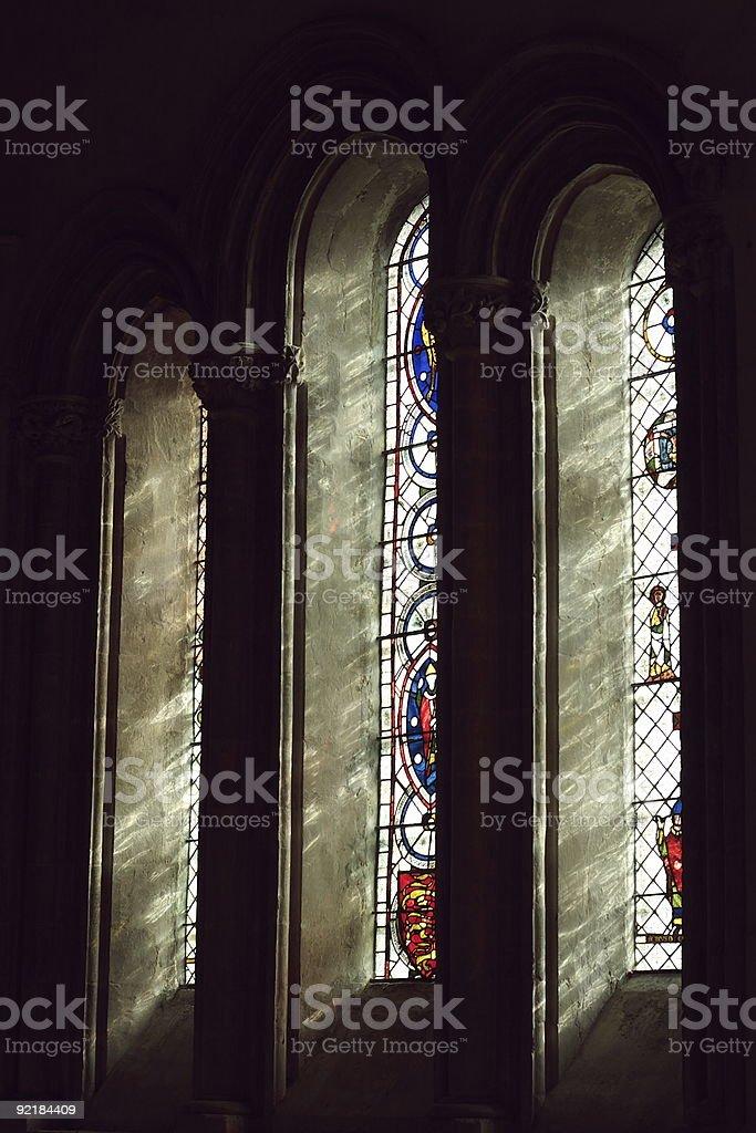 Chetwode Window color stock photo