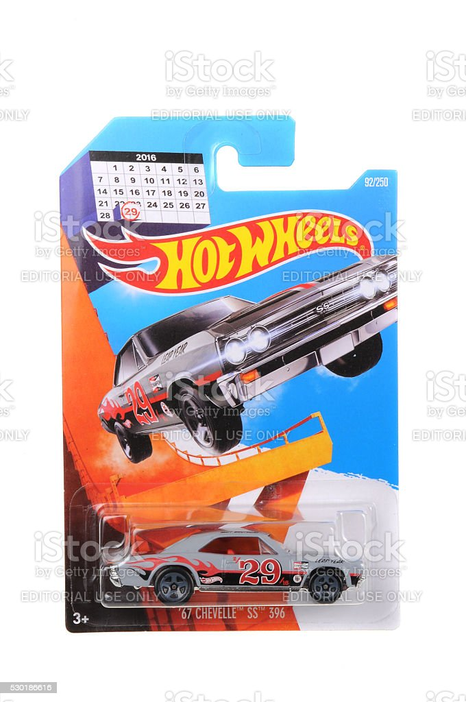 1967 Chevelle SS Leap Year Hot Wheels Diecast Toy Car stock photo