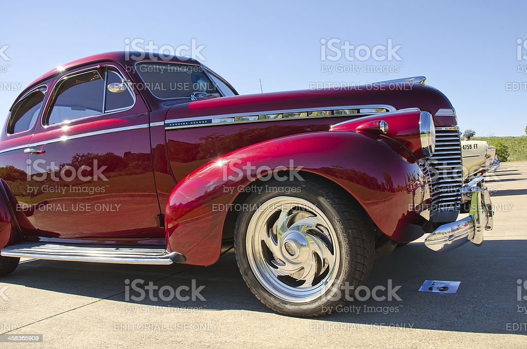 Chevrolet 1940 Special Deluxe royalty-free stock photo