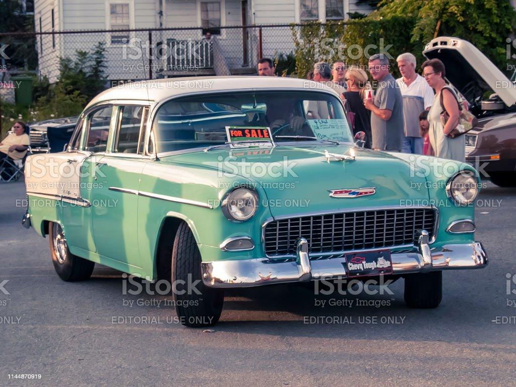 1955 Chevrolet Bel Air 4 Von Sedan Stockfoto Und Mehr Bilder Von 1955 Istock