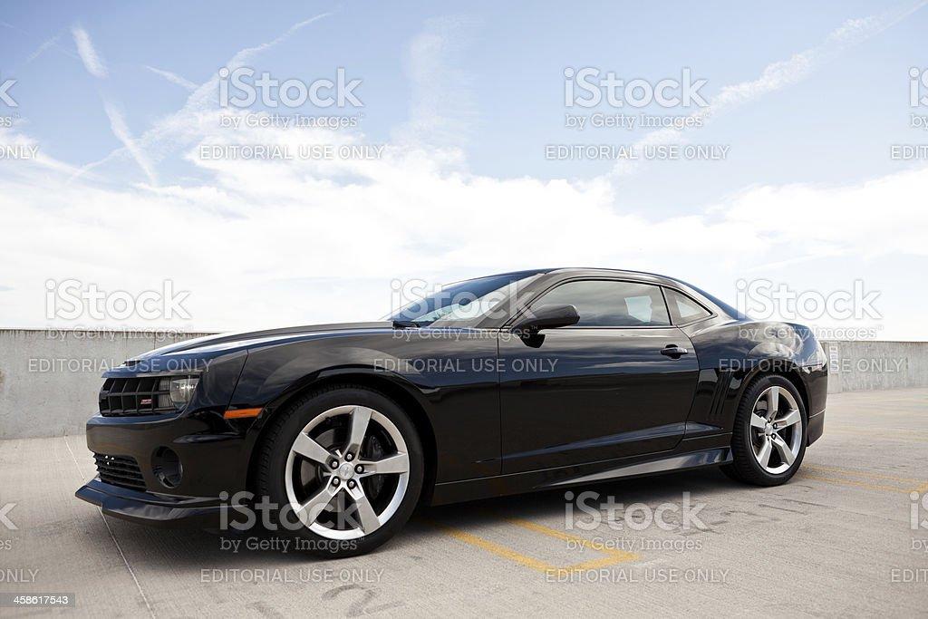 Chevrolet Camaro SS 2010 royalty-free stock photo