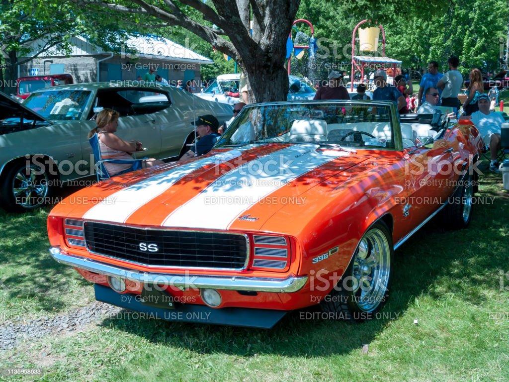 1969 Chevrolet Camaro Ss 396 Cabrio Stockfoto Und Mehr Bilder Von 1969 Istock