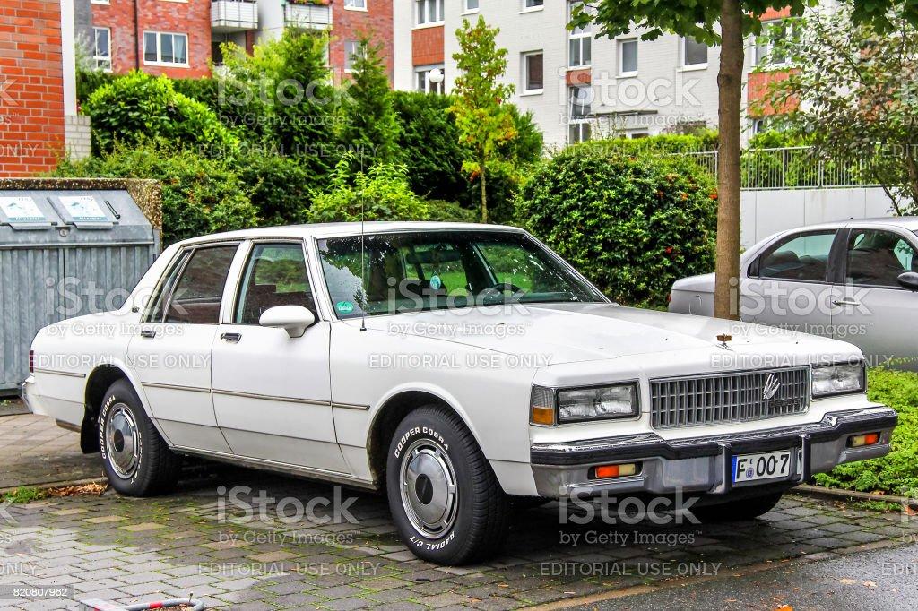 Chevrolet Caprice stock photo