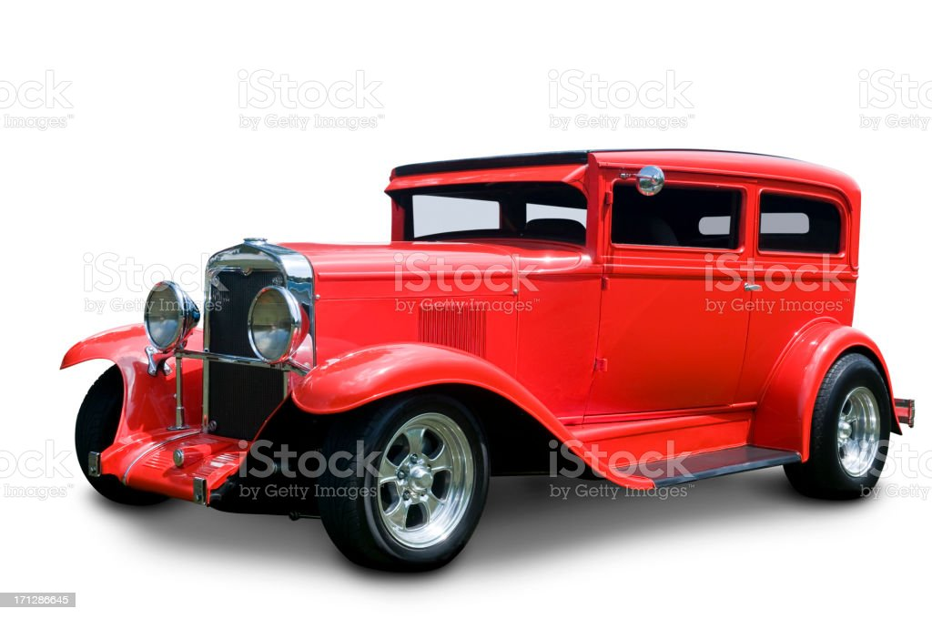 Chevrolet Classic Car royalty-free stock photo