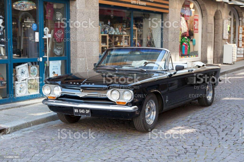 Chevrolet Corvair Monza Convertible - Royalty-free 1964 Stock Photo