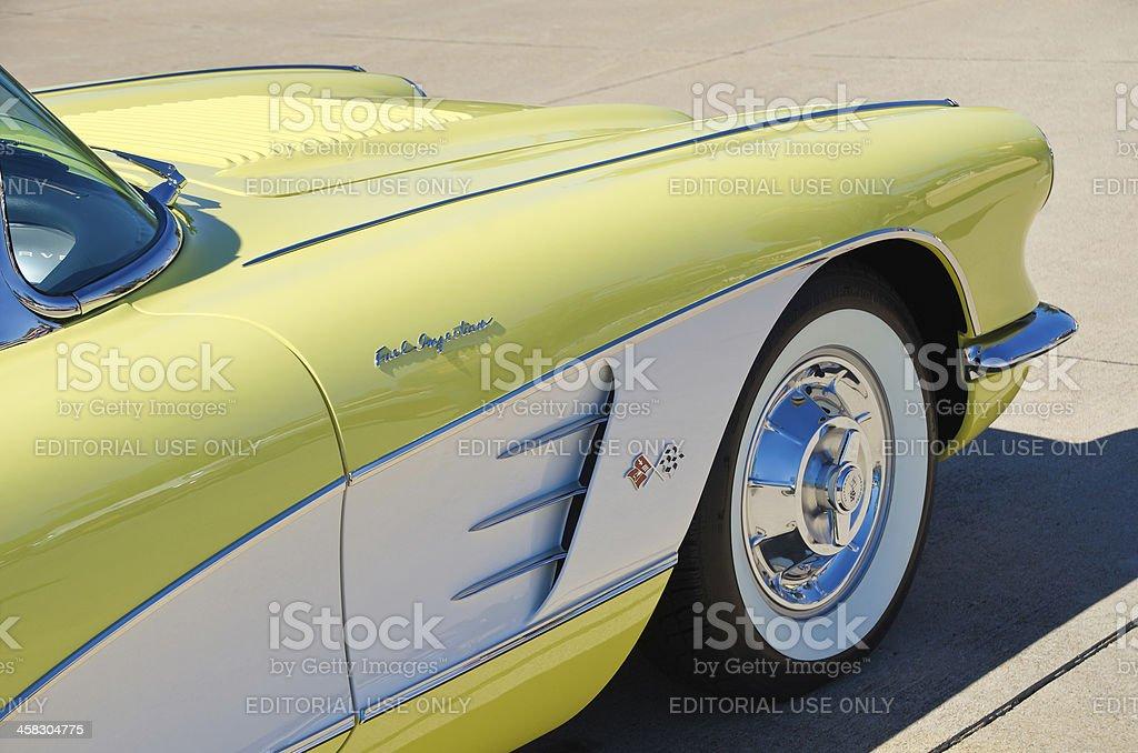 Chevrolet Corvette Convertible 1958 stock photo