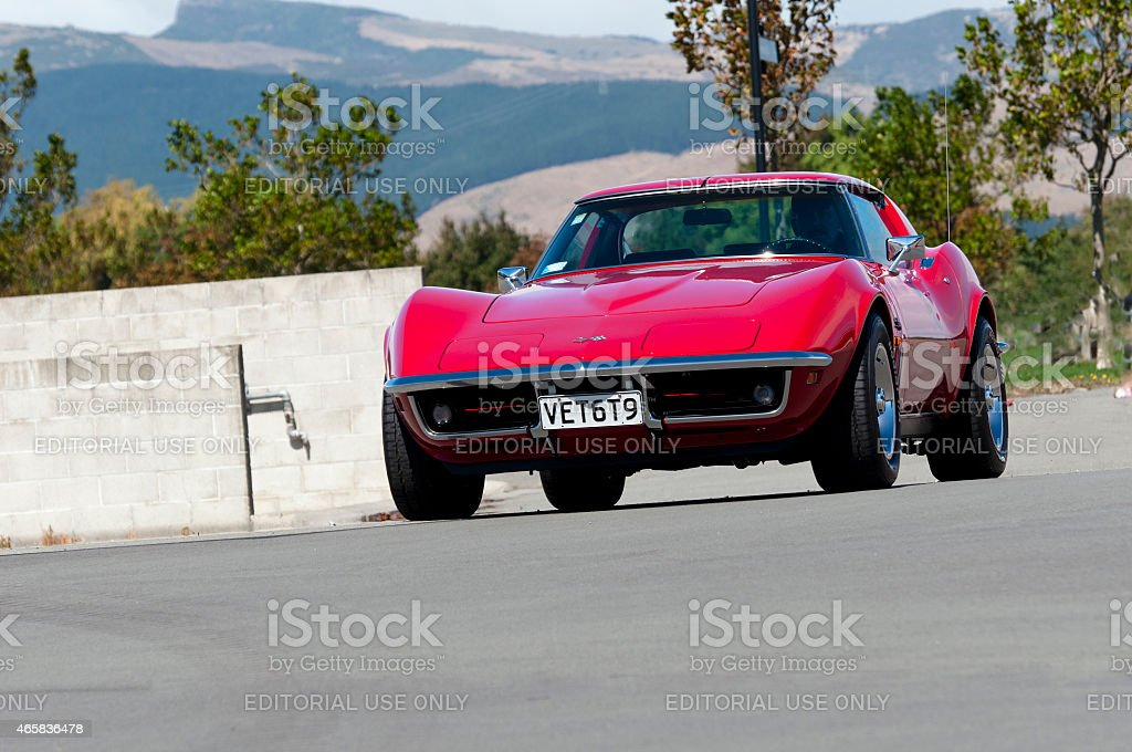 Chevrolet Corvette from 1969. stock photo