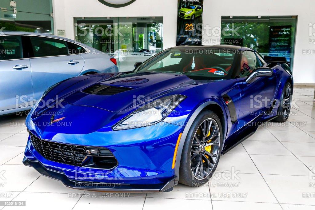Chevrolet Corvette stock photo