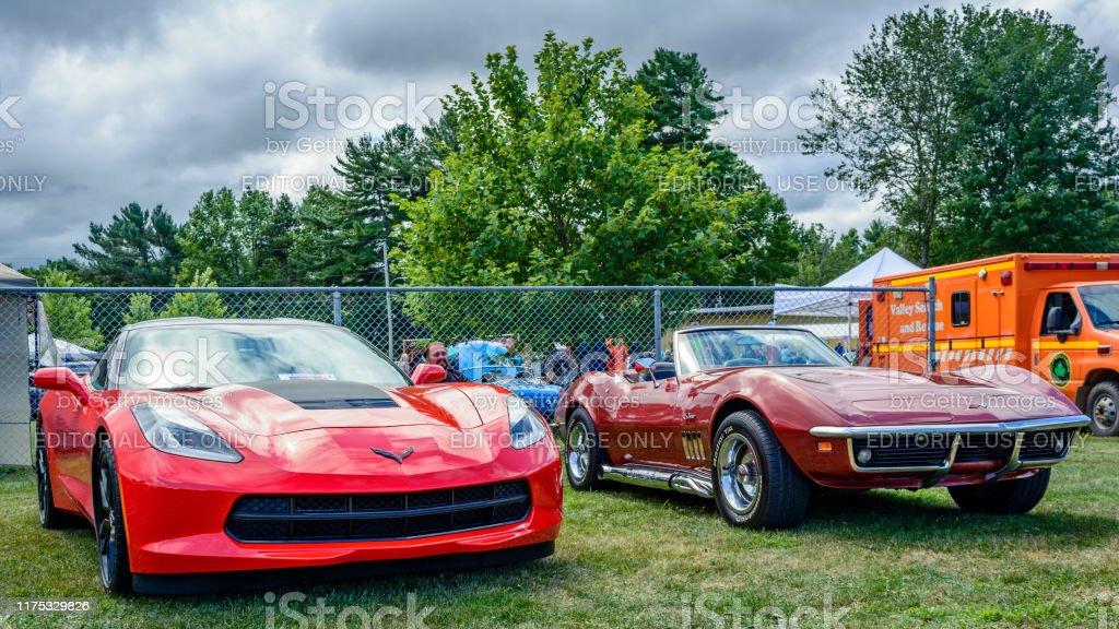 2014 Chevrolet Corvette Stingray 1969 Chevrolet Corvette