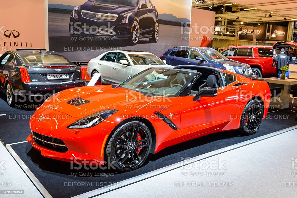 chevrolet corvette raie c7 voiture de sport photos et plus d 39 images de 2015 istock. Black Bedroom Furniture Sets. Home Design Ideas