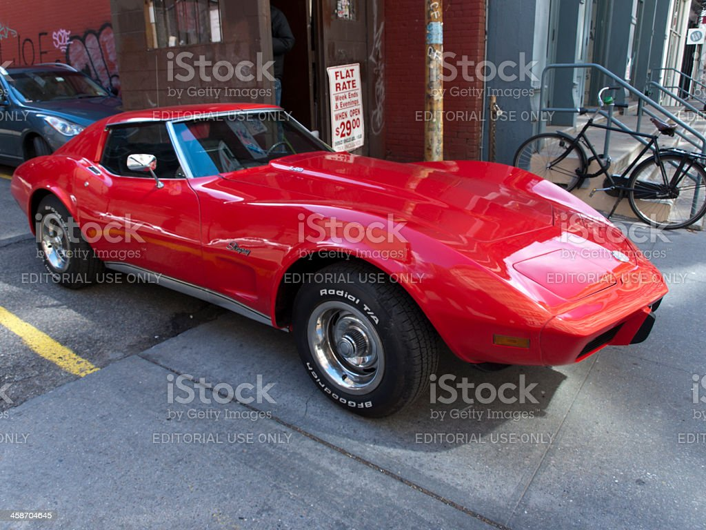 Chevrolet Corvette Stingray stock photo