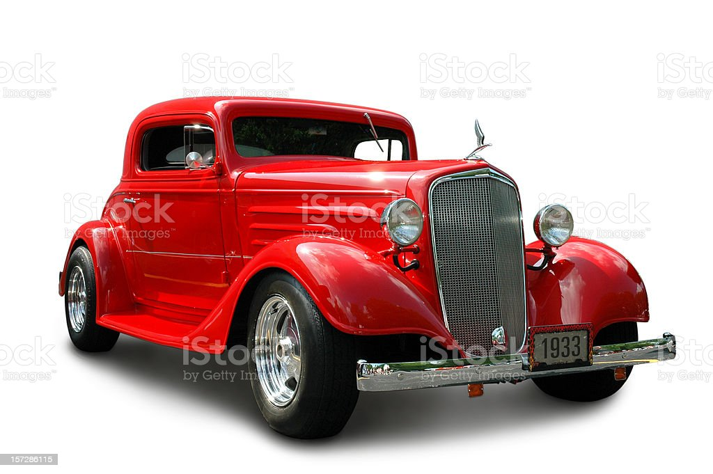 Chevrolet Coupe 1933 royalty-free stock photo