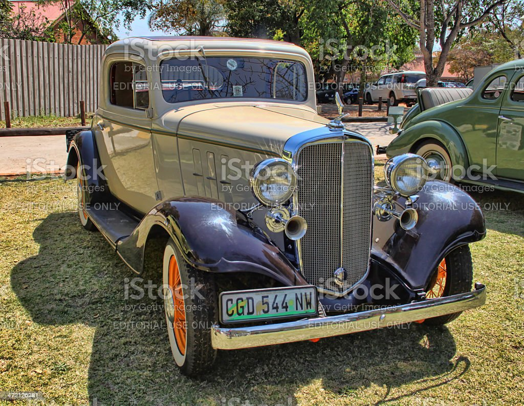 1932 Chevrolet Five Window Rumbleseat Coupe royalty-free stock photo