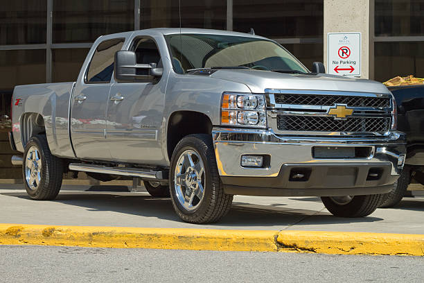 Chevrolet Heavy Duty 2500 Truck stock photo