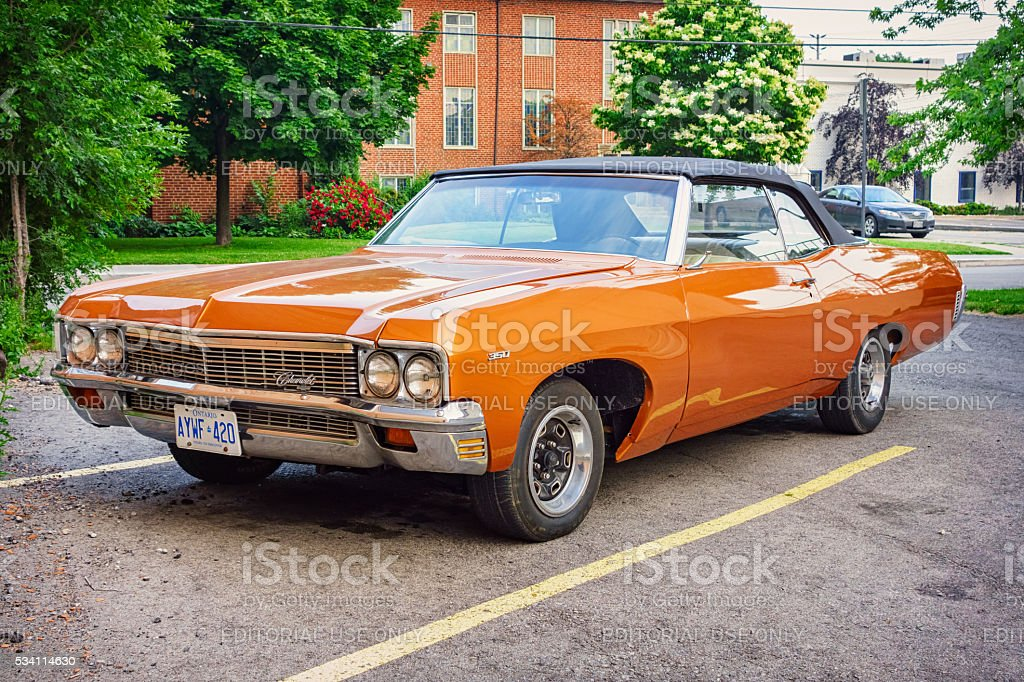 Chevrolet Impala Convertible 1970 stock photo