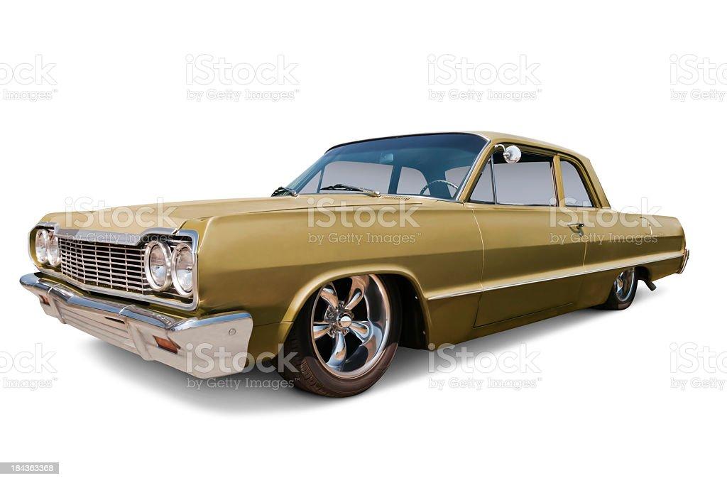 Chevrolet Impala from 1964 royalty-free stock photo