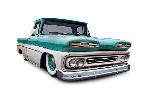 chevrolet pickup - alte wagen stock-fotos und bilder
