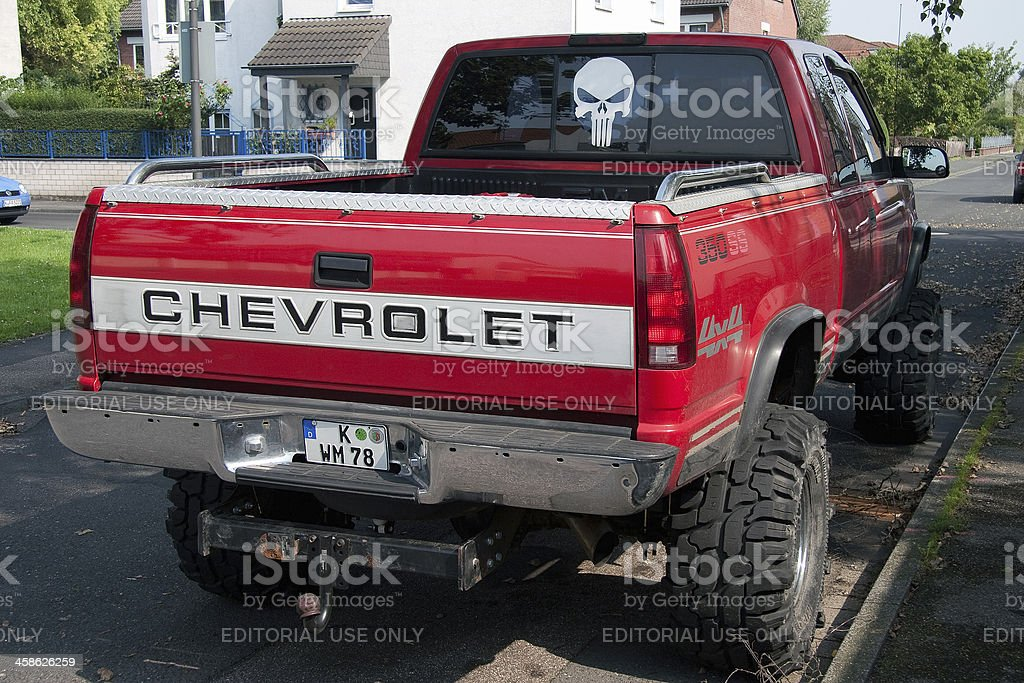 Chevrolet Pickup With Big Tires Stock Photo Download Image Now Istock