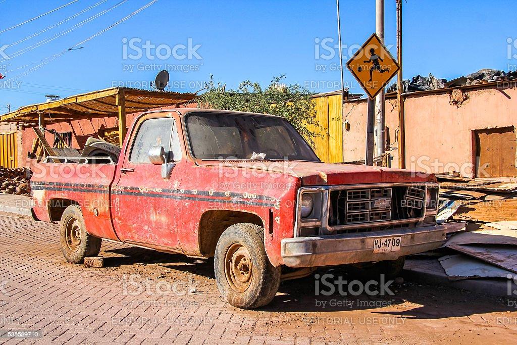 Chevrolet Silverado stock photo