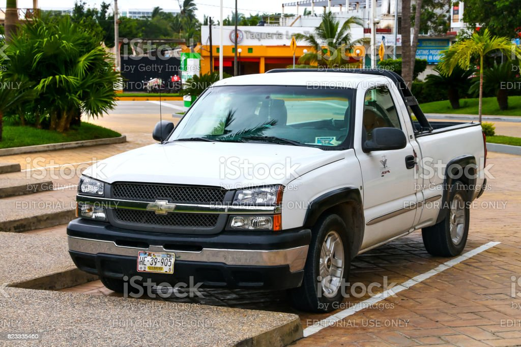 Chevrolet Silverado stock photo