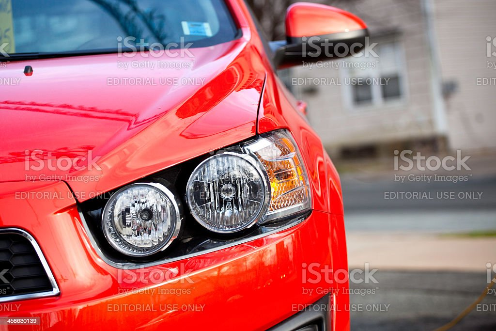 Chevrolet Sonic LT royalty-free stock photo