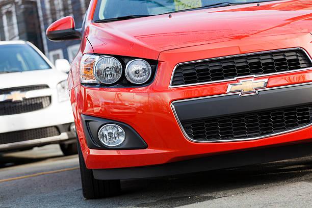 Chevrolet Sonic LT stock photo