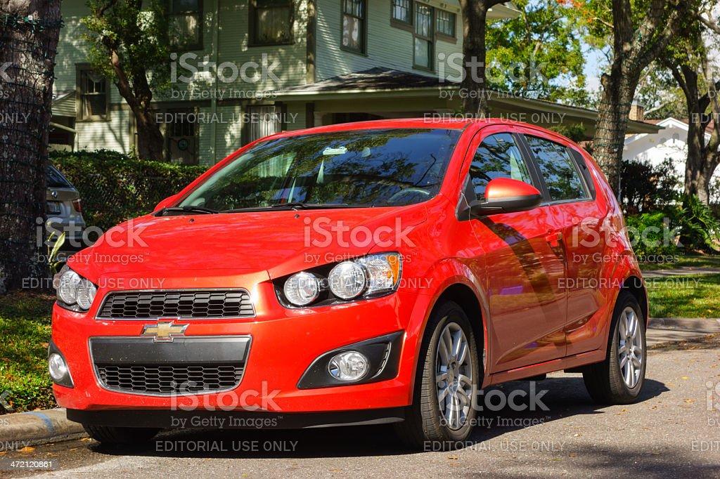 Chevrolet Sonic stock photo