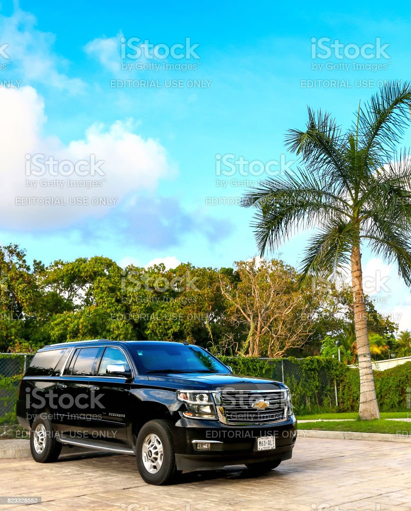 Chevrolet Suburban stock photo