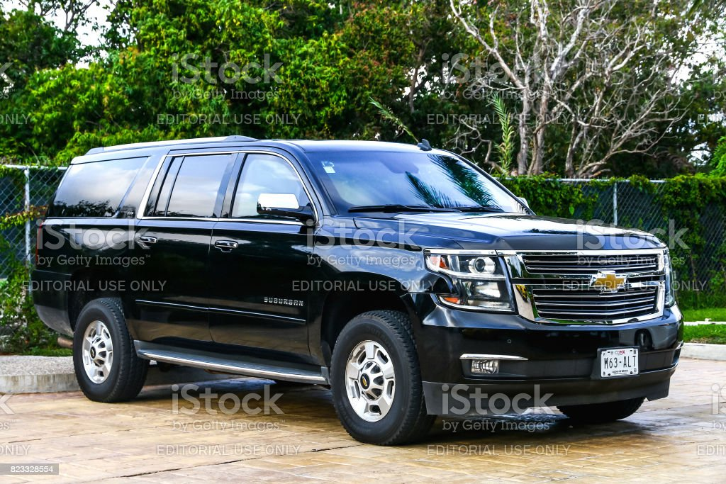 Chevrolet Suburban stock photo