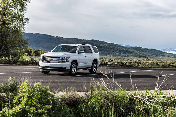 Chevrolet Tahoe LTZ stock photo